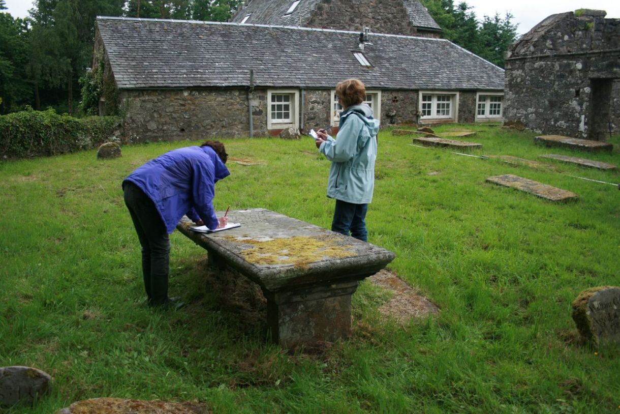 Graveyard survey at Kilvickeon Old Parish Church