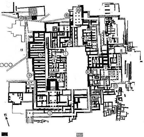 Archaeological Site Plans: Scavenger Hunt 2011 Puzzle #4