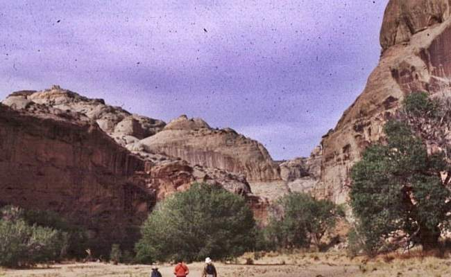Holy Ghosts In Horseshoe Canyon Utah Archaeology Travel