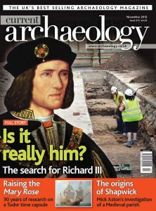 Current Archaeology issue 272