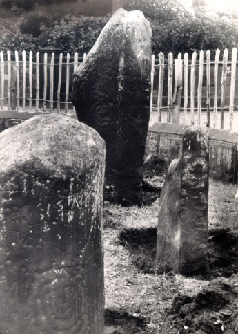 The stones have stood in at least three locations prior to their recent move. Here they are shown outside Calderstones Park.