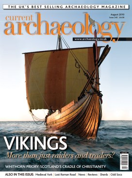 The cover of CA 245, with a picture of a Viking ship