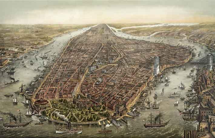 New York Seaport Print
