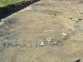Ring ditch on site 5A