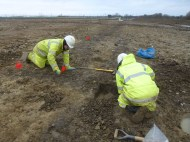 Trowelling on site 7