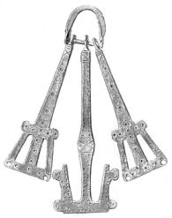 Illustration of a girdle-hanger