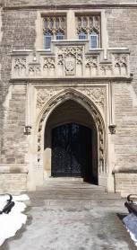 Main entrance to University Hall