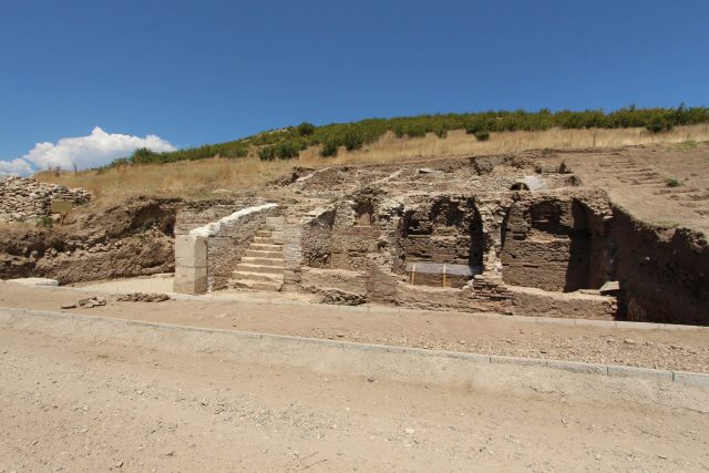 The Ancient Thracian, Greek, and Roman city of Heraclea Sintica near Petrich, close to Bulgaria's border with Greece, has still been only partly excavated in spite of years of exploration and research. Photo: Petrich Museum of History