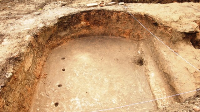 """An indoor swimming pool has been unearthed at the """"luxury"""" Roman road station near the Sostra Fortress close to Bulgaria's Troyan. Photo: National Museum of History"""