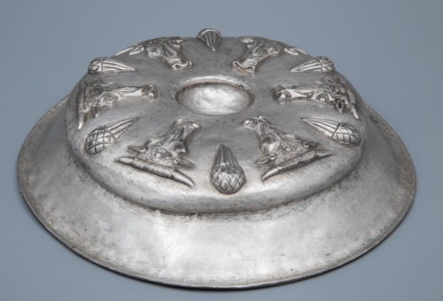 A 4th century BC silver phiale from the Rogozen Silver Treasure, part of the collection of the Vratsa Regional Museum of History. Photo: Todor Dimitrov, Bulgaria's Ministry of Culture