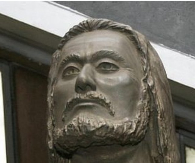 Reconstruction of the face of Tsar Kaloyan unveiled in 2008 based on his skeleton found in 1972 in the Forty Holy Martyrs Church in Bulgaria's Veliko Tarnovo. Photo: BGNES