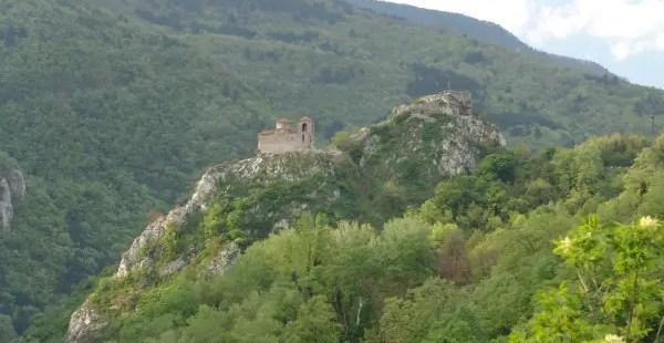 Landslide Destroys Part of Road to Medieval Asen's Fortress in Bulgaria's Asenovgrad