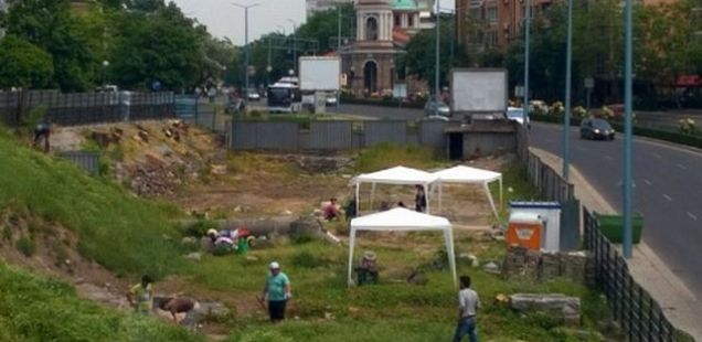 Bulgarian Archaeologists Start Excavations, Restoration of Early Christian Great Basilica in Plovdiv