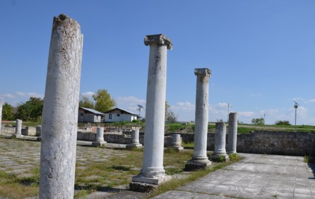 The ruins of the Ancient Roman city of Abritus in the Abritus Archaeological Preserve near Bulgaria's Razgrad. Photo: Abritus Archaeological Preserve