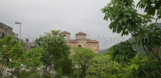 Medieval Asen's Fortress in Bulgaria's Asenovgrad Accessible Only by Foot over Collapsing Road