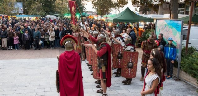 10th Ancient Heritage Festival 'Eagle on the Danube' Kicks Off at Roman Fortress Novae in Bulgaria's Svishtov