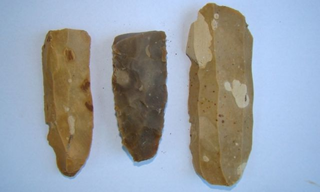 Pehistoric flint tools have been found by archaeologists in a 7,000-year-old workshop in Bulgaria's Kamenovo, Razgrad District. Photo: Top Novini Razgrad