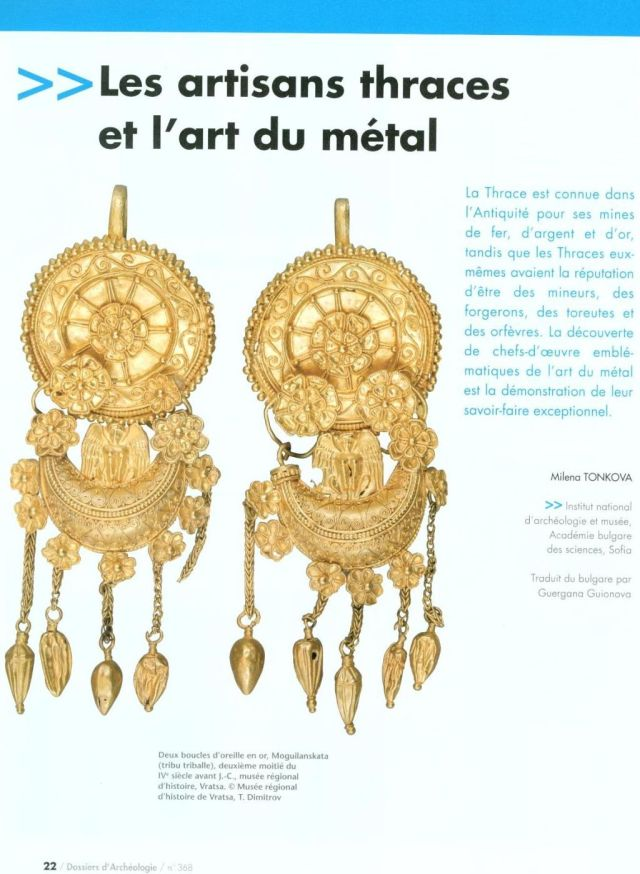 "The special issue of the French magazine ""Archaeological Files"" dedicated to Bulgaria's Louvre exhibit on Ancient Thrace provides an in-depth comprehensive overview of the life of the Ancient Thracians and the achievements of the Bulgarian archaeological science. Photo: Bulgarian Ministry of Culture"