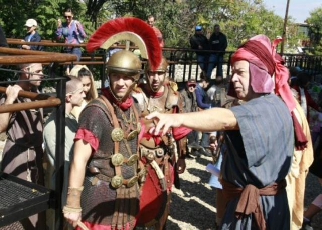 A photo showing the previous editions of the historical reenactment festival in the Roman Fortress of Sexaginta Pritsa in Bulgaria's Danube city of Ruse. Photo: Ruse Regional Museum of History