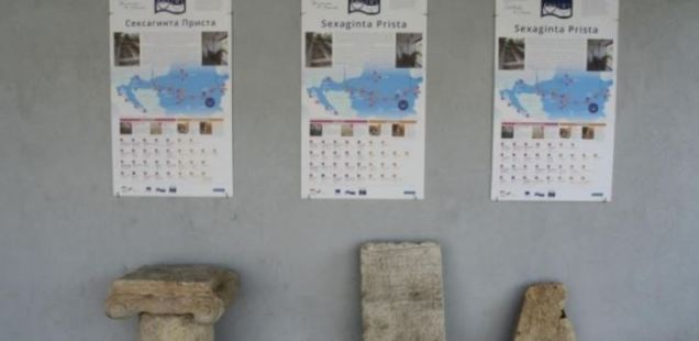 Ancient Roman City Sexaginta Prista in Bulgaria's Ruse Gets New Information Signs as Part of Roman Emperors & Wine Project
