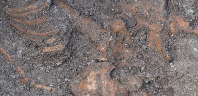 Skeletons Found under Late Antiquity Fortress Wall of Odessos in Bulgaria's Varna Were Buried in Early Christian Necropolis, Archaeologist Reveals
