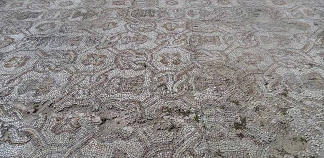 Bulgarian Archaeologists Uncover Further Older Layer of Beautiful Early Christian Mosaics at Plovdiv's Great Basilica