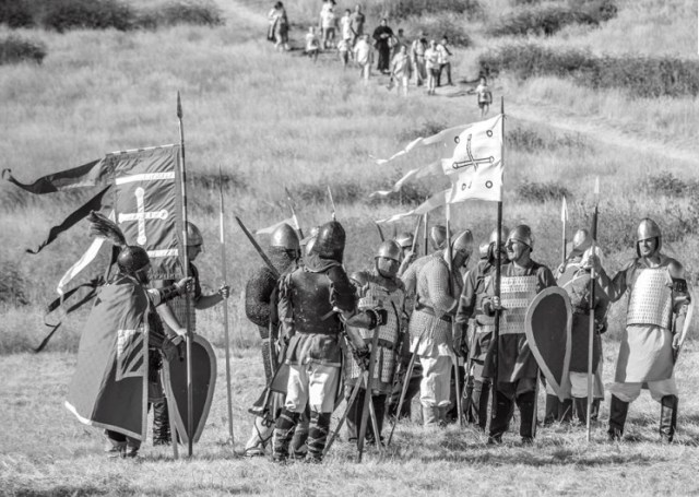 The first historical reenactment of the Battle of the Markeli (Marcellae) Fortress between Bulgaria and Byzantium in 792 AD has been organized by Karnobat Municipality. Photo: Georgi Todorov, Karnobat Municipality
