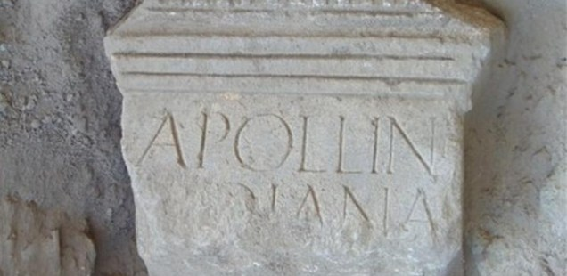 Archaeologists Discover Inscription Dedicated to Apollo and Diana in Ancient Roman City Novae near Bulgaria's Svishtov