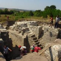 Archaeologists Unearth Odd Early Byzantine Fortress Tower in Ancient Roman City Deultum in Bulgaria's Debelt