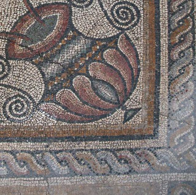 "The ""Dionysus's Procession"" mosaic found in the Roman city of Augusta Traiana in Bulgaria's Stara Zagora was unearthed in 2009-2011, and has now been restored. Photo: Stara Zagora Regional Museum of History"