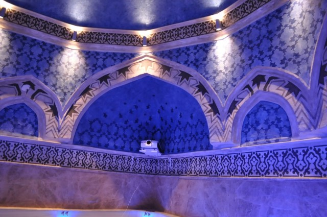 A view inside the restored bath of Ottoman Sultan Suleiman the Magnificient who sought treatment in the Aquae Calidae - Thermopolis spa resort in the 16th century. Photo: Burgas Municipality