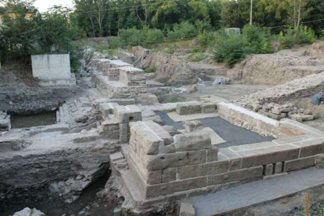 The ancient and medieval city of Aquae Calidae - Thermopolis is still being excavated by archaeologists even though part of it has been restored and opened for visitors. Photo: Burgas Municipality