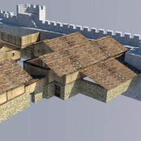 Archaeologists Show 3D Model of 14th Century Residential Quarter of Trapesitsa Fortress in Capital of Second Bulgarian Empire Tarnovgrad (Veliko Tarnovo)