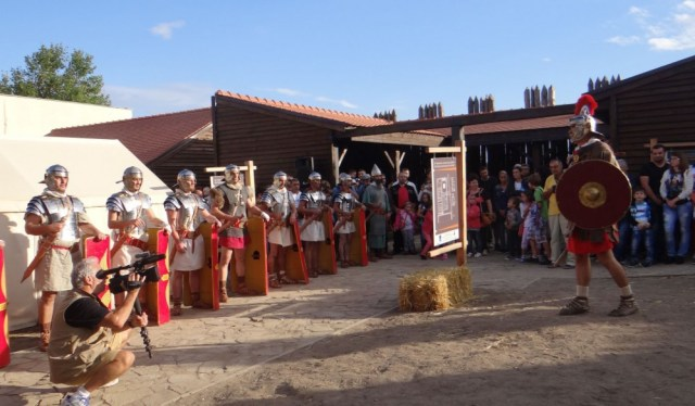 The group for historical reenactments based in the southern Bulgarian city of Yambol is going to stage demonstrations of the life of Roman legionnaires in the Ancient Thracian city of Kabile. Photo: Yambol Municipality