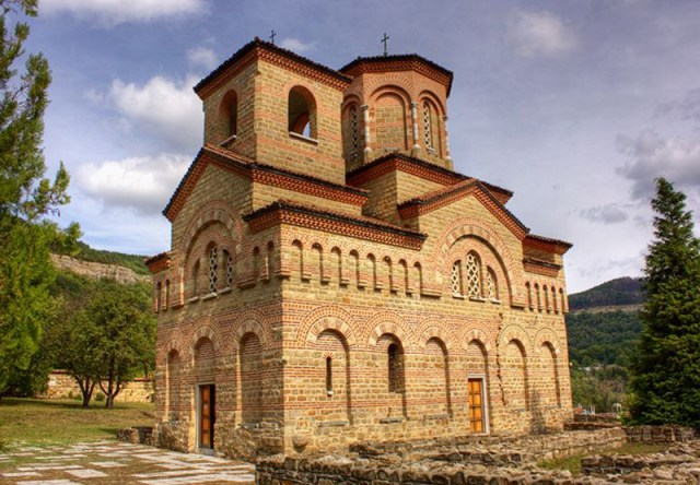 The St. Dimitar Solunski Church was restored in 1985 for the 800th anniversary of Asen and Petar's Uprising that created the 2nd Bulgarian Empire. Photo: Veliko Tarnovo Municipality