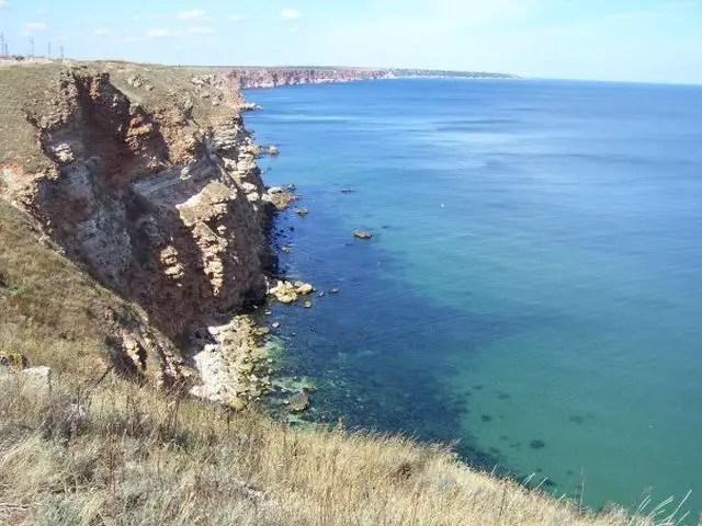 The Bulgarian Black Sea coast to the north of the Cape of Kaliakra. Photo: ArchaeologyinBulgaria.com