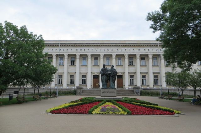 The St. Cyril and St. Methodius National Library in Sofia has set the tone for the protest of Bulgaria's museum employees. Photo: BG Macedonia, Wikipedia