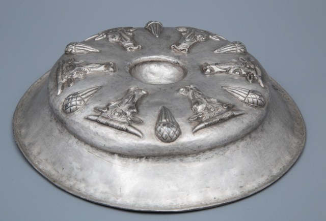 This 4th century BC silver phiale from the Rogozen Silver Treasure was part of Bulgaria's 2015 Ancient Thracian exhibition in the Louvre in Paris. Photo: Todor Dimitrov, Bulgaria's Ministry of Culture