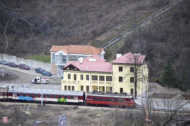 The Trapesitsa Train Station is a historic building in itself because of its connection with Bulgaria's recent history - the declaration of independence from the Ottoman Empire in 1908. Photo: Veliko Tarnovo Municipality