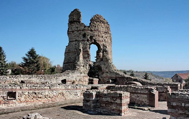 "The fortress of Castra Martis (""Mars's Fortresses"") located in the town of Kula of Northwest Bulgaria. Its sole surviving fortress tower has given the name of the town which means ""tower"" in Bulgarian. Photo: Kula Municipality"
