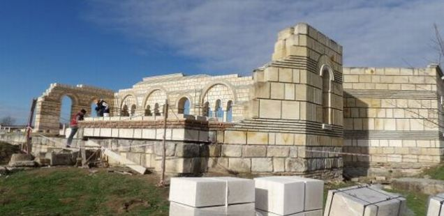 9th Century Great Basilica in Capital of First Bulgarian Empire Pliska to Be Restored by May 2016
