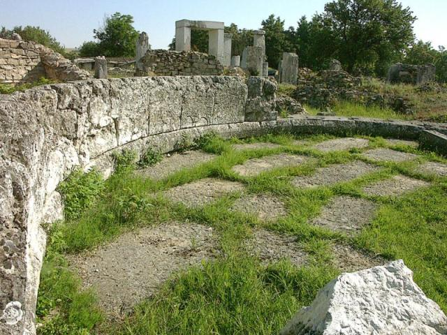 Part of the ruins of the Ancient Roman city of Nicopolis ad Istrum located in Central North Bulgaria. Photo: Bulgaria's Ministry of Culture
