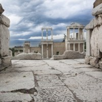 Bulgaria's Plovdiv to Rebuild Stage of Antiquity Amphitheater, Exhibit Underground Archaeological Structures