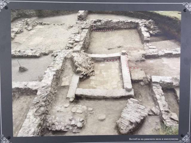 Photo of the recent archaeological excavations of Deultum. Photo: Bulgarian Prime Minister's Facebook Page