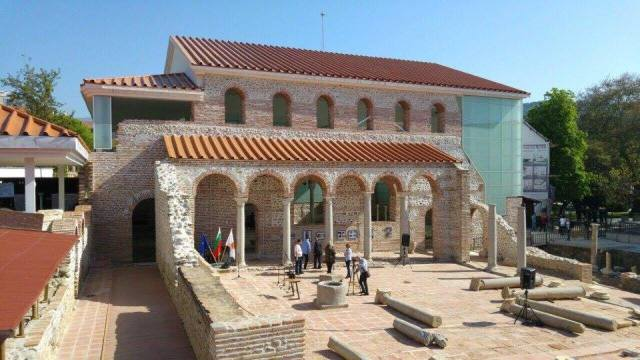 The newly opened Early Christian Archaeological Park in Bulgaria's Sandanski. Photo: Bulgarian Prime Minister's Facebook Page