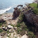 Ancient Black Sea Port, Fortress Caria near Bulgaria's Shabla 'Sinking' into the Sea, Report Alarms