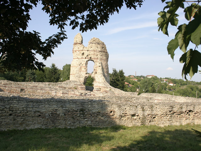 The ruins of the Ancient Roman fortress Castra Martis in the town of Kula in Northwest Bulgaria. Photo: Kula Municipality