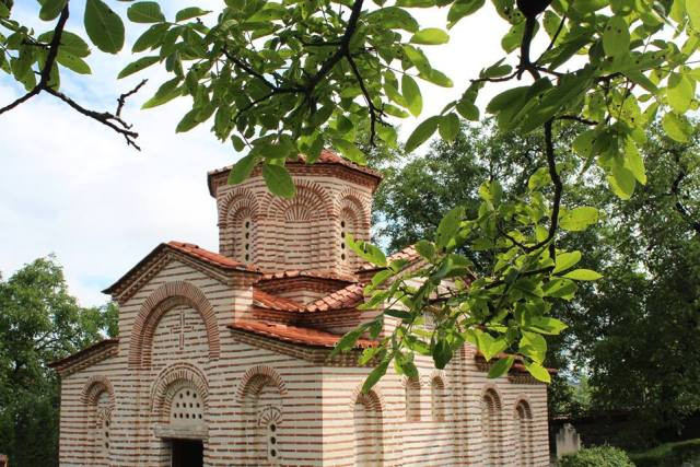 The St. George Church in Bulgaria's Kyustendil. Photo: Kyustendil Regional Museum of History