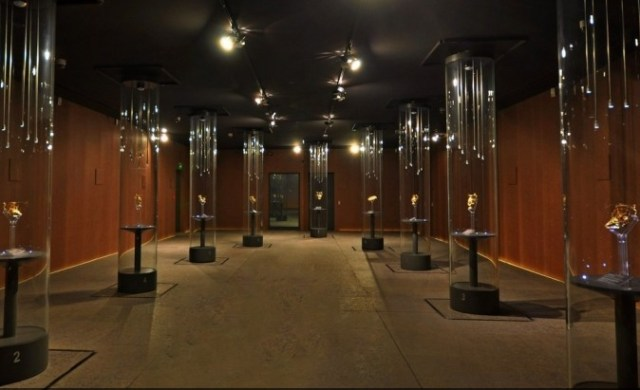 The special exhibition hall for the Panagyurishte Gold Treasure in the Panagyurishte Museum of History. Photo: Panagyurishte Museum of History