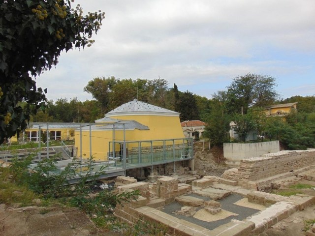 The Aquae Calidae - Thermopolis Archaeological Preserve in Bulgaria's Burgas has been partly restored, and is open for visitors but there is still much to be excavated and researched. Photo: Burgas Municipality